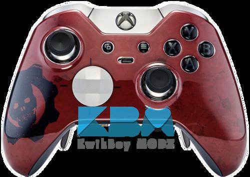 Custom RED GOW Elite Controller