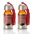 Chaacoca's Pure Organic Moroccan Argan Oil, Double Set