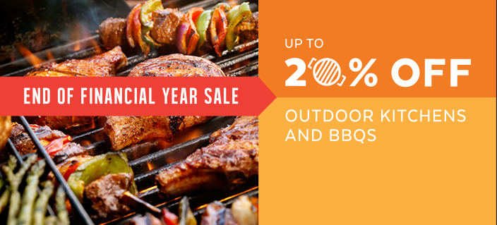 Outdoor BBQ Kitchen Sale End Of Finanical Year