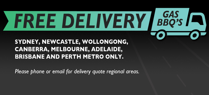 FREE DELIVERY GAS BBQ'S