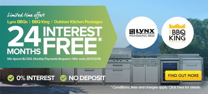 BBQ & Outdoor Kitchen Interest Free Payment Plans