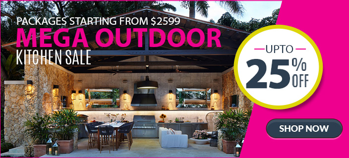Outdoor BBQ & Kitchen Packages Mega March 2017 Sale