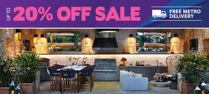 Outdoor BBQ Kitchen Packages