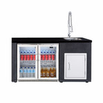 Beefeater Artisan ODK Fridge and Sink Module BS79950