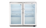 Beefeater Stainless Steel 2 Door Fridge BS28200