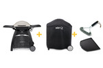 WEBER FAMILY Q3100 56067224 NG BBQ PACKAGE