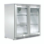 HUSKY Alfresco Double Back Bar Fridge 190L ALF-C2-840