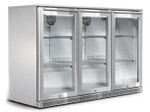 HUSKY Alfresco Triple Back Bar Fridge 266L ALF-C3-840