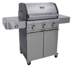 SABER Cast S/s Combo 3 Burner BBQ R50CC0713