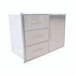 SABER Triple Drawer and Door Combo K00AA3214