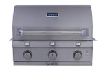 SABER Stainless Steel 3 Burner Built In BBQ R50SB1114 Natural Gas