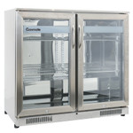 Gasmate GMF229F Premium Double Door Bar Fridge with Heated Glass