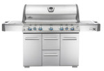 NAPOLEON LEX 730 WITH SIDE BURNER AND INFRARED BOTTOM & REAR BURNERS - LPG