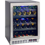 SCHMICK Wine Refrigerator With Two Zones For White And Red Wines YC150D