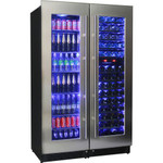 SCHMICK Matching Beer And Wine Fridge 3 Zone Combination JC430-COMBO