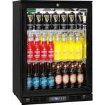 RHINO Black Commercial Glass Door Bar Fridge Energy Efficient Rhino SG1HR-B