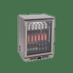 EURO single door beverage fridge 138Lt - EA60WFSX