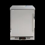 Euro 138L Single Solid Door Beverage Cooler - EA60SDSXL