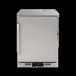 Euro 138L Single Solid Door Beverage Cooler - EA60SDSXR
