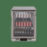 Euro 138L Single Door Beverage Cooler - EA60WFSX2L
