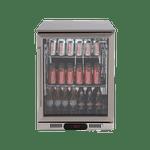 Euro 138L Single Door Beverage Cooler - EA60WFSX2R