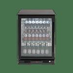 Euro 138L Single Glass Door Beverage Cooler - EA60WFBL