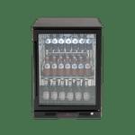 Euro 138L Single Glass Door Beverage Cooler - EA60WFBR