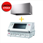 BUNDLE PACKAGE BEEFEATER SIGNATURE 3000(S) BS12840 BUILT IN  AND ELECTROLUX CANOPY RANGEHOOD ERHC938S
