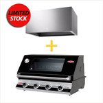 BUNDLE PACKAGE BEEFEATER SIGNATURE 3000(E) BS19942 BUILT IN  AND ELECTROLUX CANOPY RANGEHOOD ERHC938S