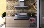 Euro Alfresco - Outdoor Kitchen - Amici - Hooded BBQ