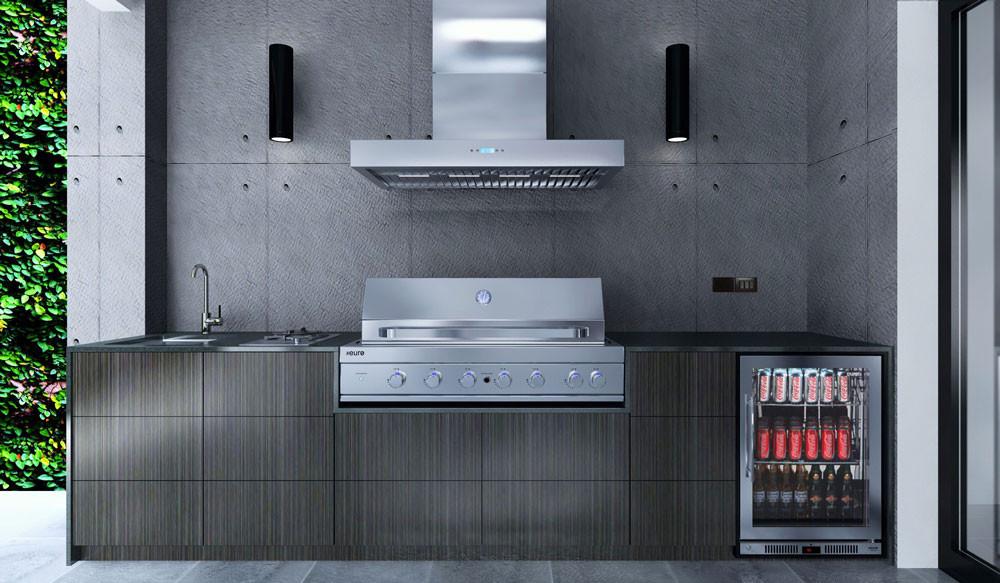 Euro Alfresco - Outdoor Kitchen - VIVA - Hooded BBQ - The BBQ Store