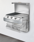 IlVE MY-Q SPACE SAVING BBQ - ILBBQ643X