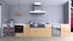 Euro Alfresco - Outdoor Kitchen - LA MODA - Hooded BBQ
