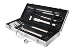 10 Pce BBQ Tool Set with Bonus...