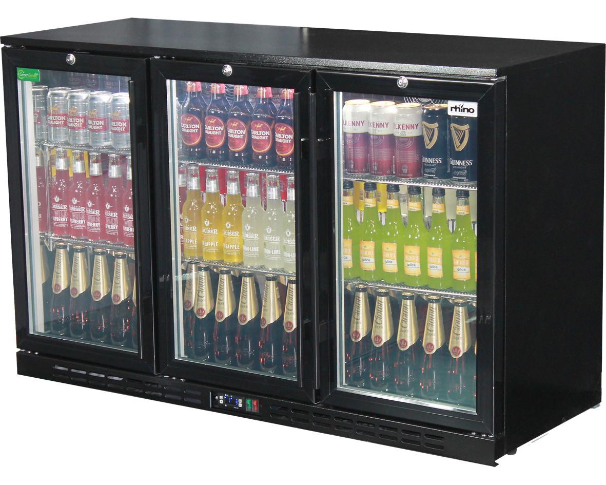 Rhino lg compressor alfresco glass door 330l black bar fridge sg3h loading zoom eventelaan Gallery