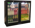 RHINO LG Compressor Alfresco Glass Door 208L Black Bar Fridge SG2H-B