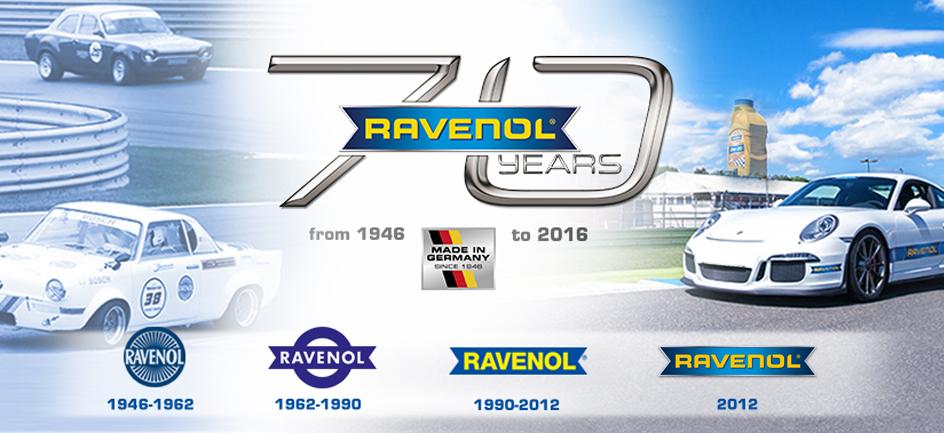 RAVENOL's 70th Anniversary