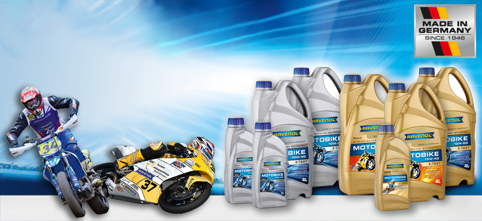 Full range of powersports oils & lubricants