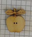 "Large Apple. Each square is 1/4""."