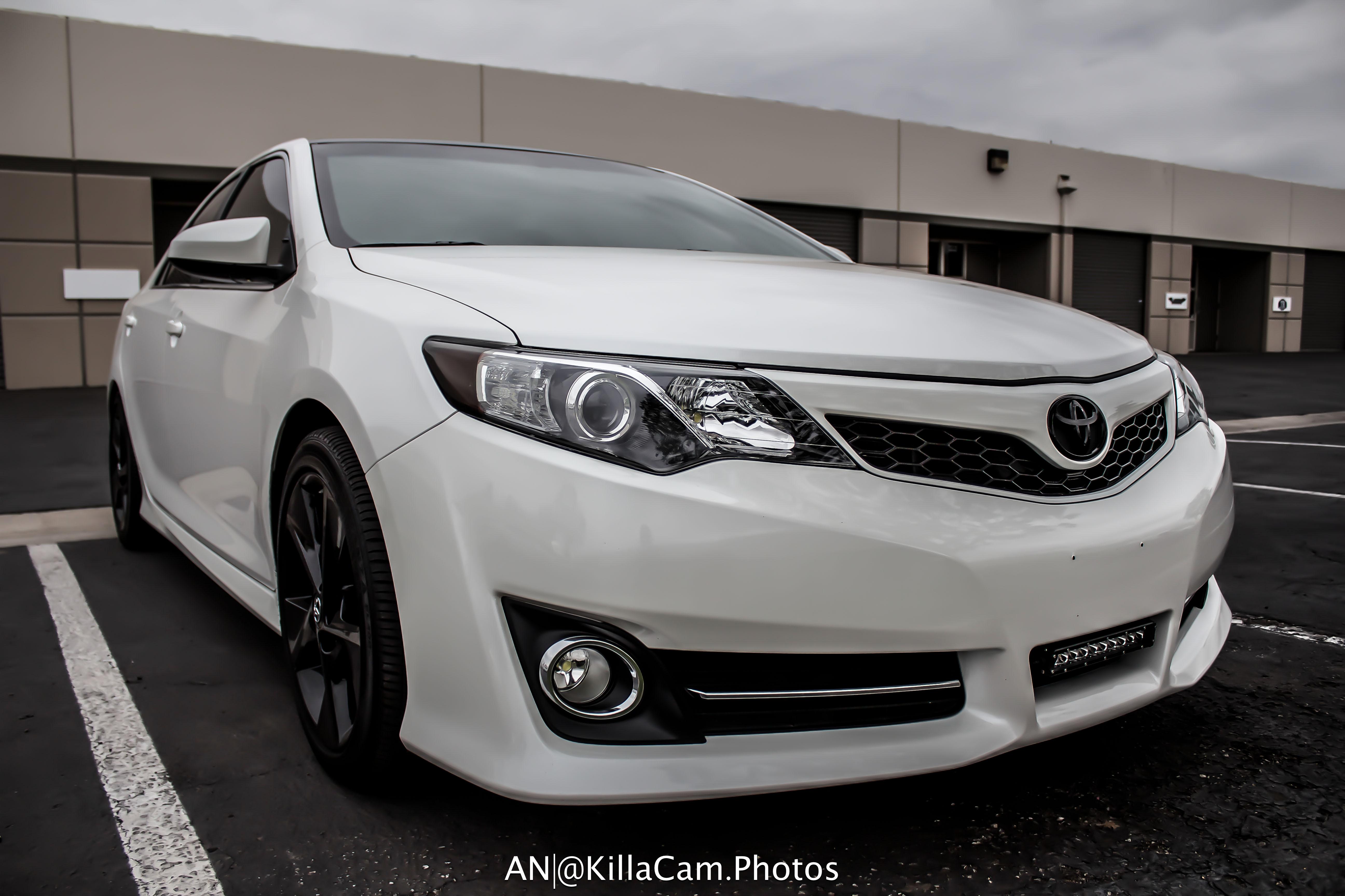 Toyota Camry Vinyl Overlays 2012 2014 Premium Auto Styling
