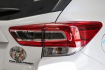 2018 + Crosstrek XV Smoked Custom Tail Light Overlay (Option V)