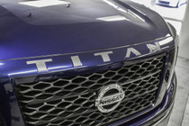 Titan XD Grille Lettering Vinyl Inlay - Select Color (2016+)