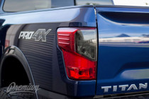 Taillight Smoke Overlays (2016-2017 TITAN XD)