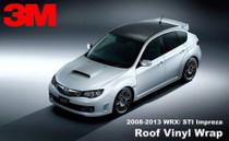 2008 - 2014 Subaru WRX Hatchback Vinyl Roof Wrap Kit (GLOSSY, MATTE, CARBON)