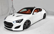 2013 Hyundai Genesis Coupe Vinyl Roof Wrap Kit