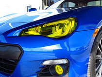 2013-2014 Subaru BRZ Yellow Headlight Tint Kit