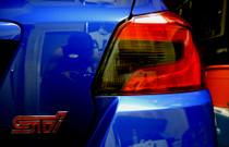 2015 WRX & STI Sedan Smoked Tail Light Overlay