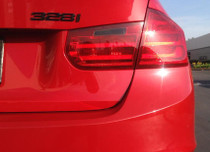 BMW F30 Smoked Reverse Tail Light Overlay