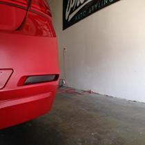BMW F30 Rear Bumper Marker Tint (2012-2014)