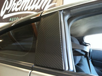 350Z Carbon Fiber Vinyl B-Pillar Cover Kit (2003-2008)